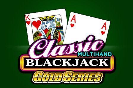 Classic Multihand Blackjack Gold Series Game Free Play at Casino Ireland