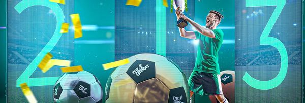 Join the weekly Free Bet League at Mr Green