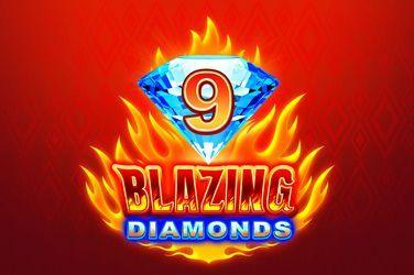9 Blazing Diamonds Slot Game Free Play at Casino Ireland